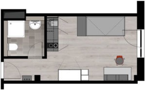 ground plan small apartment